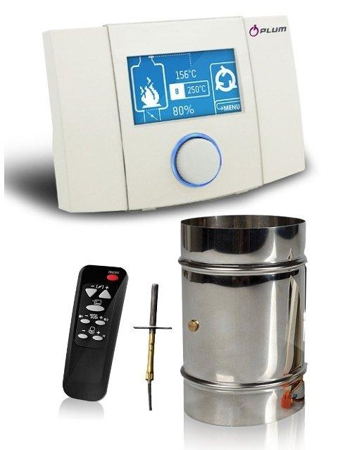 Elektroninis valdiklis PLUM ECOkom 250/260 vandeniniams židiniams