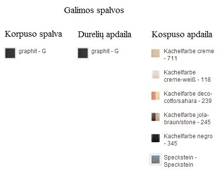 Hark Napoli GT ECOplus (su orkaite)