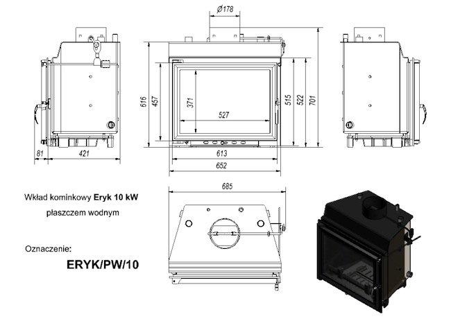 Kratki Eryk PW 10KW