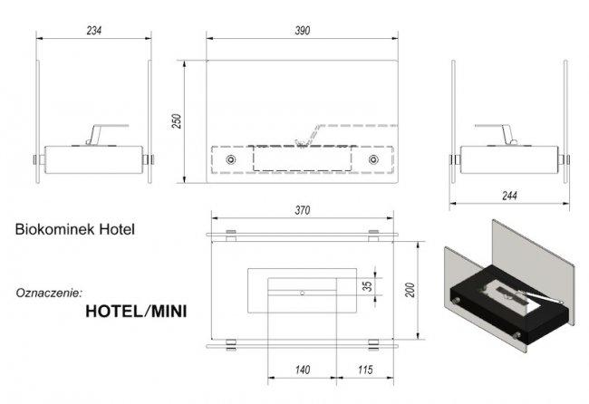Kratki Hotel Mini
