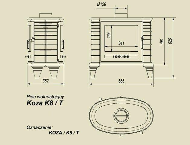 Kratki K8 9KW