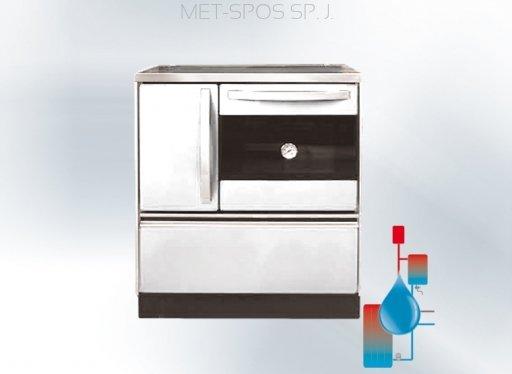 MET-SPOS Viryklė THERMOROYAL 720 - Deš. (su vandens kontūru)