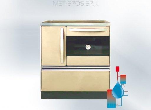MET-SPOS Viryklė THERMOROYAL 720 - Kair. (su vandens kontūru)