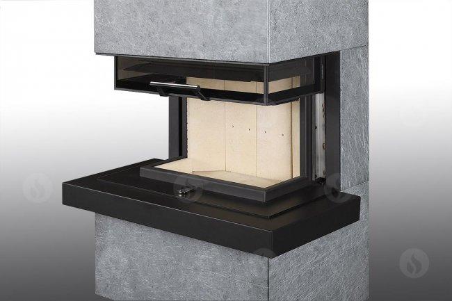 Romotop Cara C su akmens apdaila