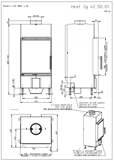Romotop KV HEAT 2g 42.50.01 (H2Q 01)