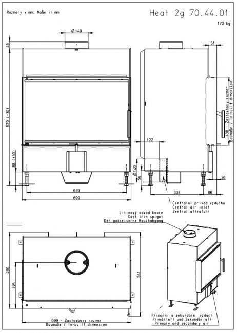 Romotop KV HEAT 2G 70.44.01 (H2P 01)