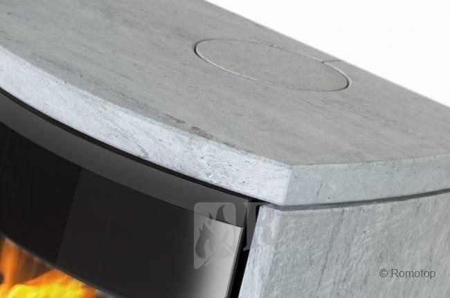 Romotop MERU su akmens apdaila