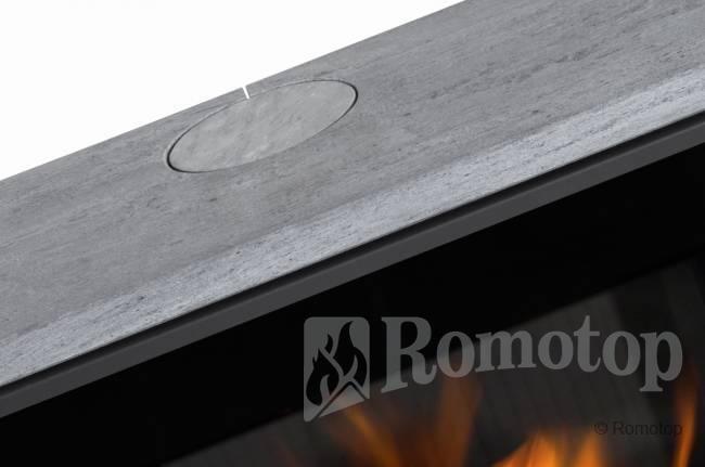 Romotop RIANO N su akmens apdaila
