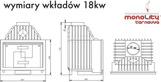 TarnaVva UNICA 18 KW